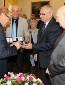 Prezydent Tadeusz Ferenc otrzymuje odznakę Przyjaciel Rzeszowa