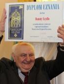 Zdzisław Daraż przed wręczeniem dyplomu